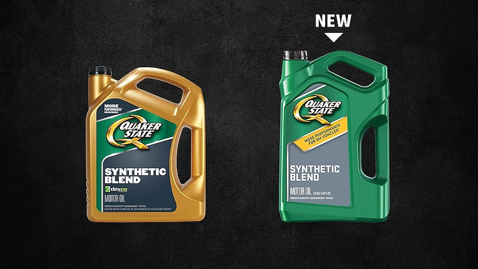 Quaker State synthetic blend motor oil