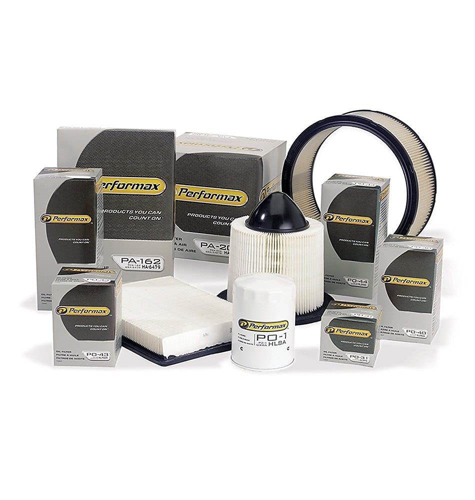 The line of Performax automotive filters