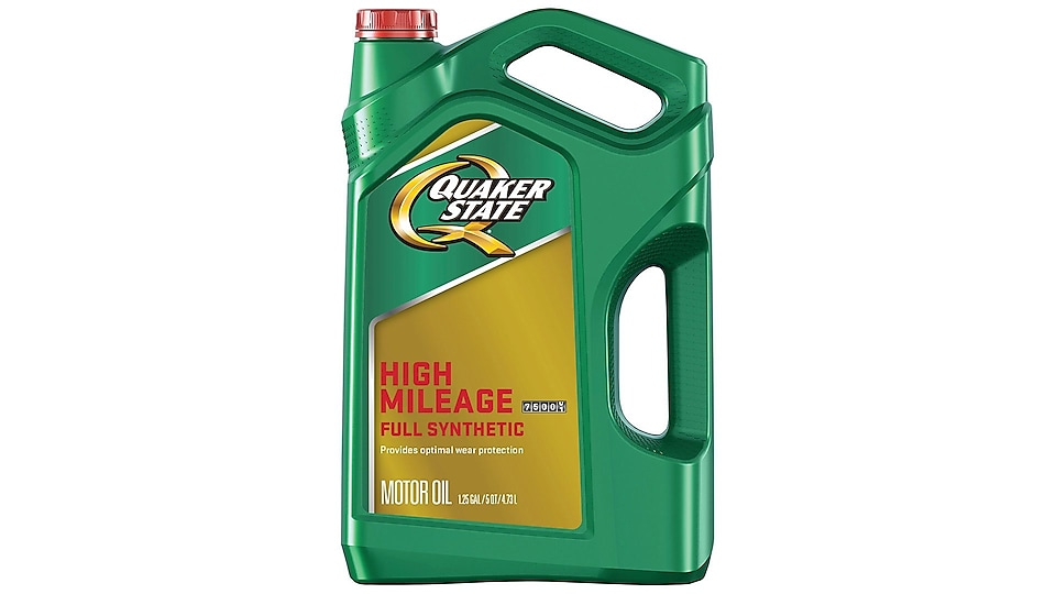 Quaker State® Synthetic High Mileage Motor Oil