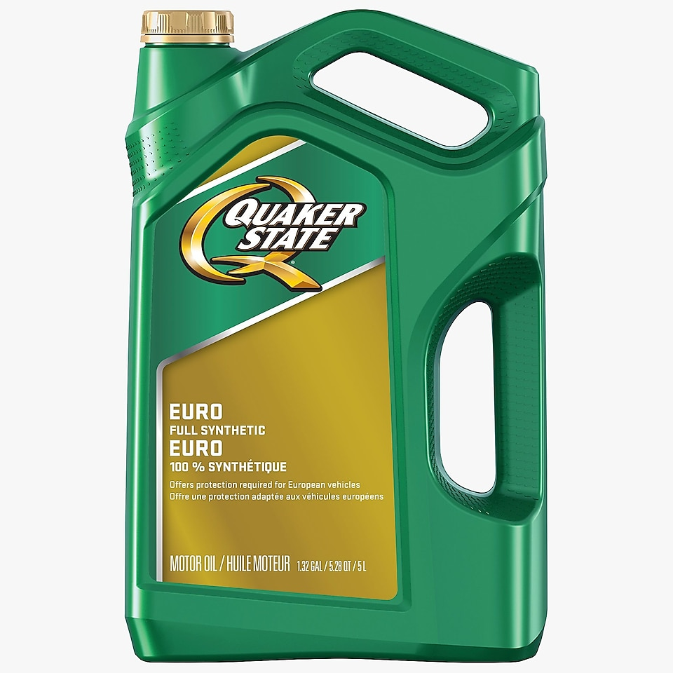 Quaker State® Euro Synthetic Motor Oil