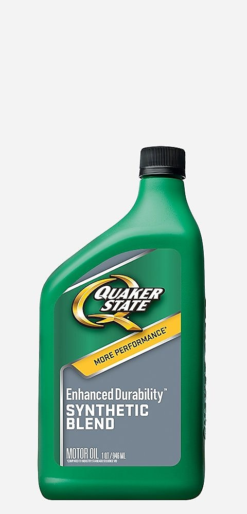 Quaker State Enhanced Durability - Synthetic Blend Motor Oil
