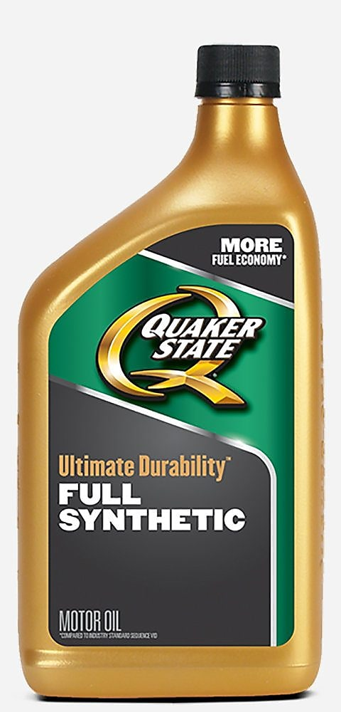 Quaker State Ultimate Durability bottle